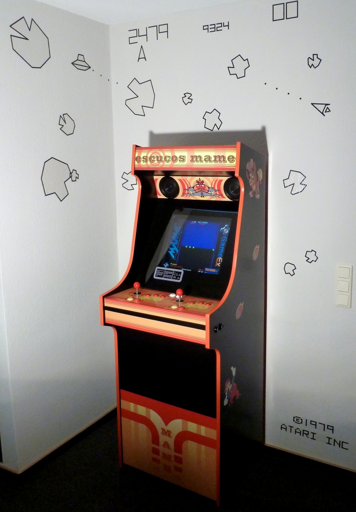 Atari Wall Sticker - Customer Photo 1 ...