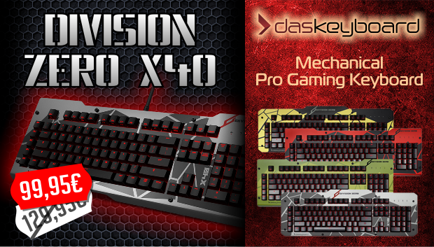 as Keyboard Division Zero X40 Pro Gaming